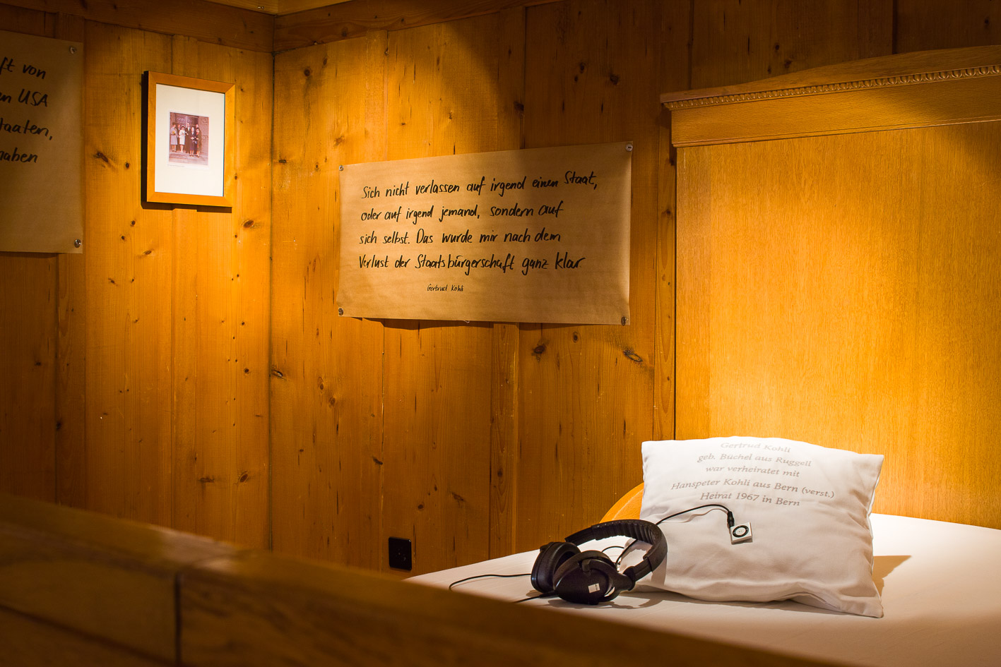 Blick in die Ausstellungsräume in Raum 1